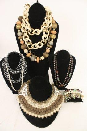 Vintage Necklace And Bracelet Group Lot