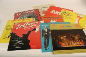Ten Original Broadway Cast And Soundtrack Albums