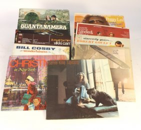 Group Lot 12 Vintage Record Albums
