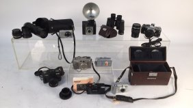 Vintage Mixed Lot Camera Collection