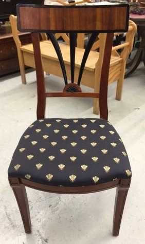 Century X Back Upholstered Side Chair