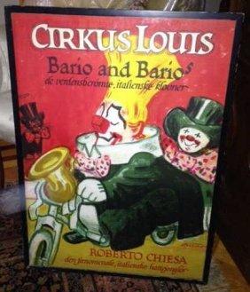 Cirkus Louis Barios And Barios Circus Poster