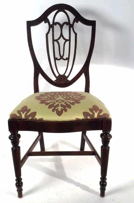 Shield Back Vintage Side Chair