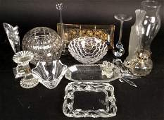 Crystal Group Lot Vintage and New