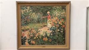CLAUDE MONET The Garden at Giverny