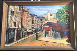 A. FALKENBURG signed oil painting