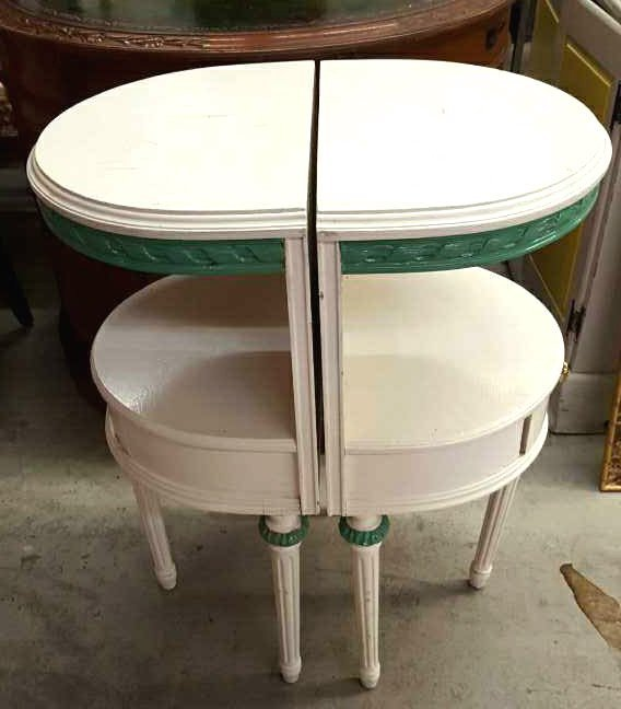 Pair of Country Style Side Tables