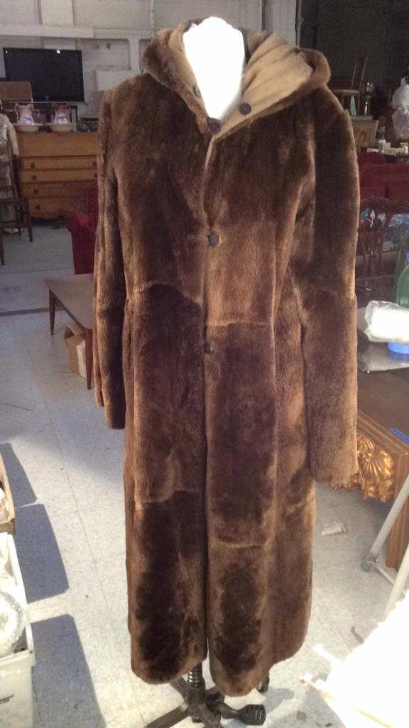 Vintage Nutria Fur Coat