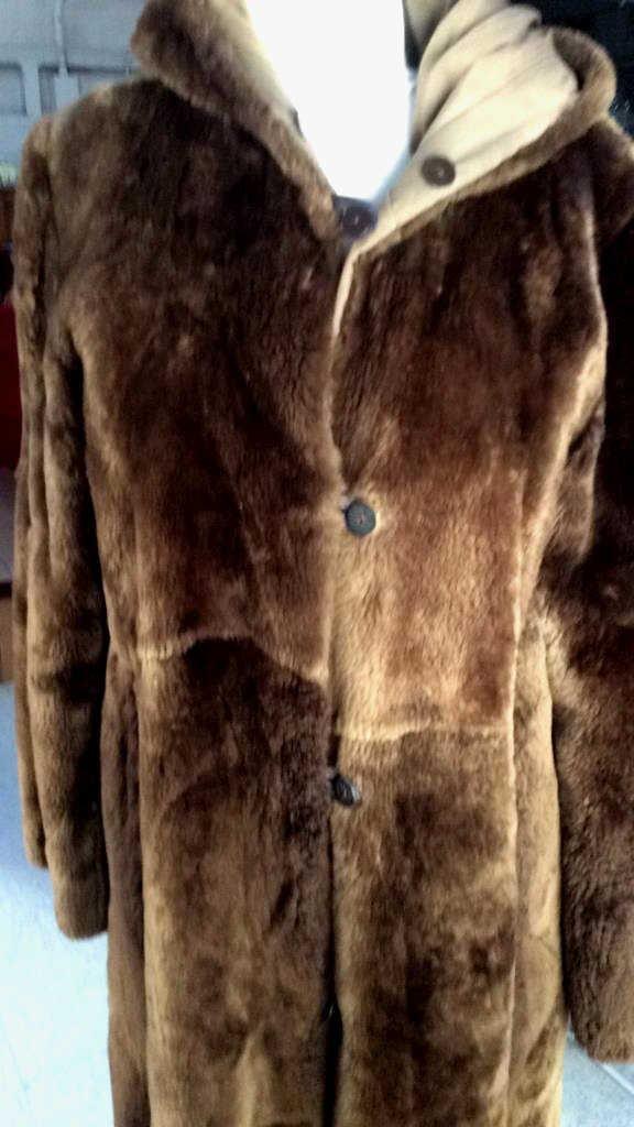 Vintage Nutria Fur Coat - 2