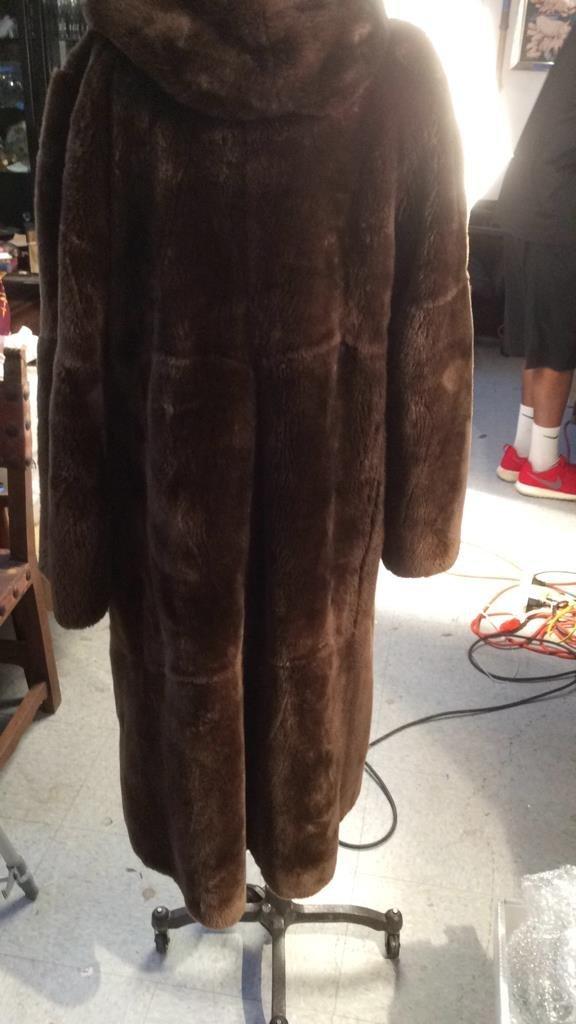 Vintage Nutria Fur Coat - 5