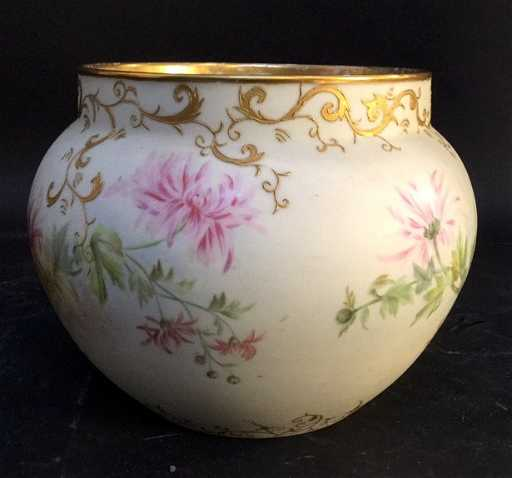 Jpl France Commissioned 1894 Limoges Vase