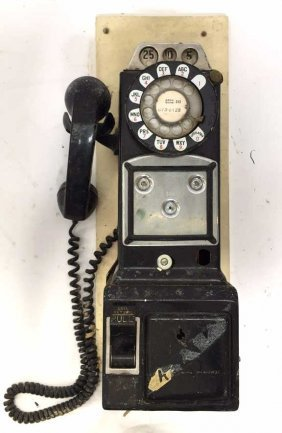 Vintage Drug Store Style Pay Phone
