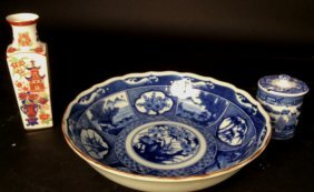 Hand Painted Group Asian Porcelain