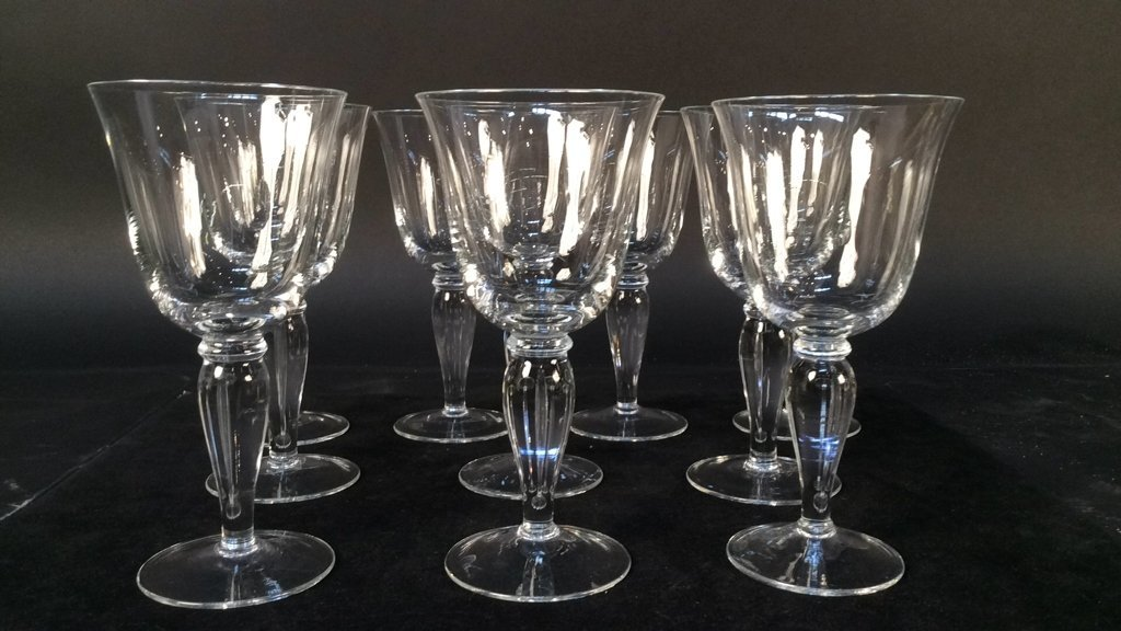 Classic Bell Shaped Glassware Set of 10 Classic Bell