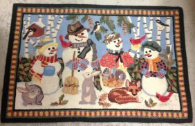 Vintage Claire Murray Wool Holliday Rug Vintage Claire