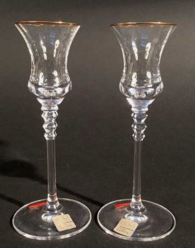 Mikasa Pair Candle Holders Mikasa Pair Candle Holders
