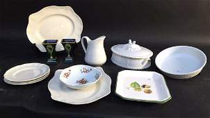 Group Lot Porcelain & Ceramics ROYAL WORCESTER lidded