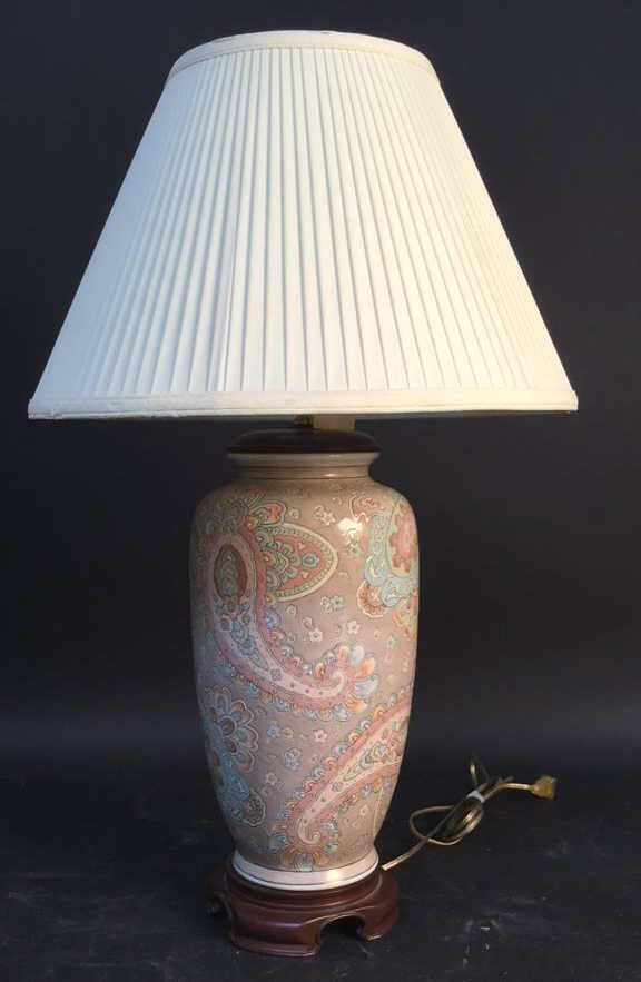 Decorative Ceramic Lamp