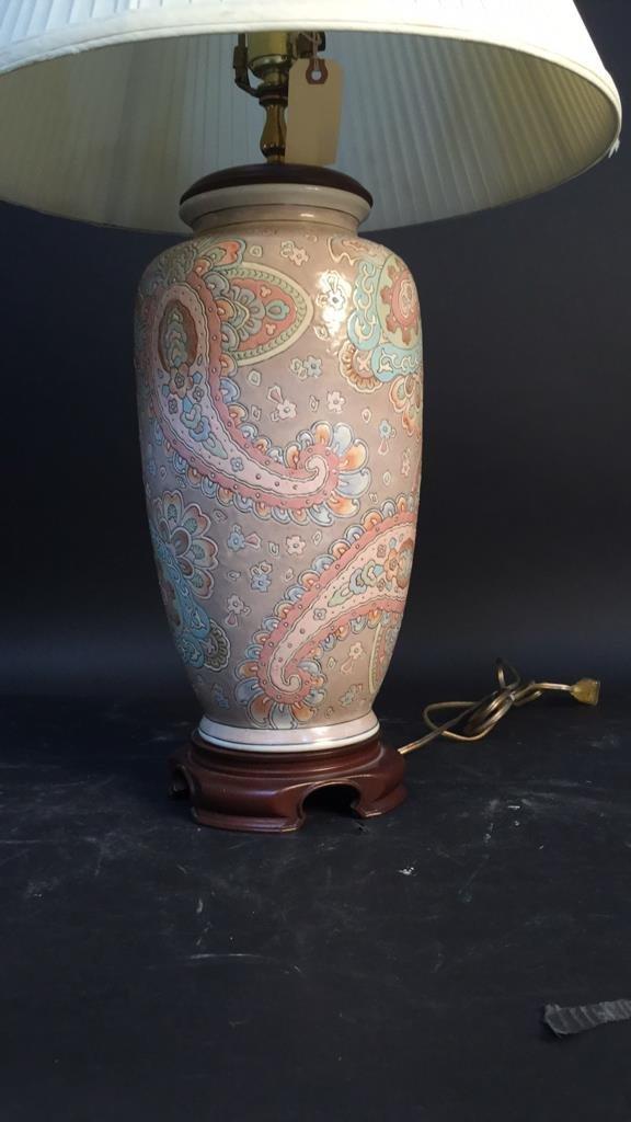 Decorative Ceramic Lamp - 2