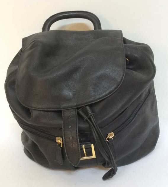 Stefano Serapian Milano Leather Backpack