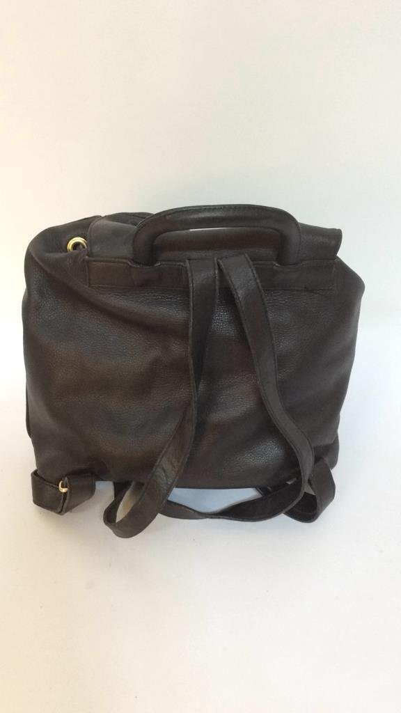 Stefano Serapian Milano Leather Backpack - 5
