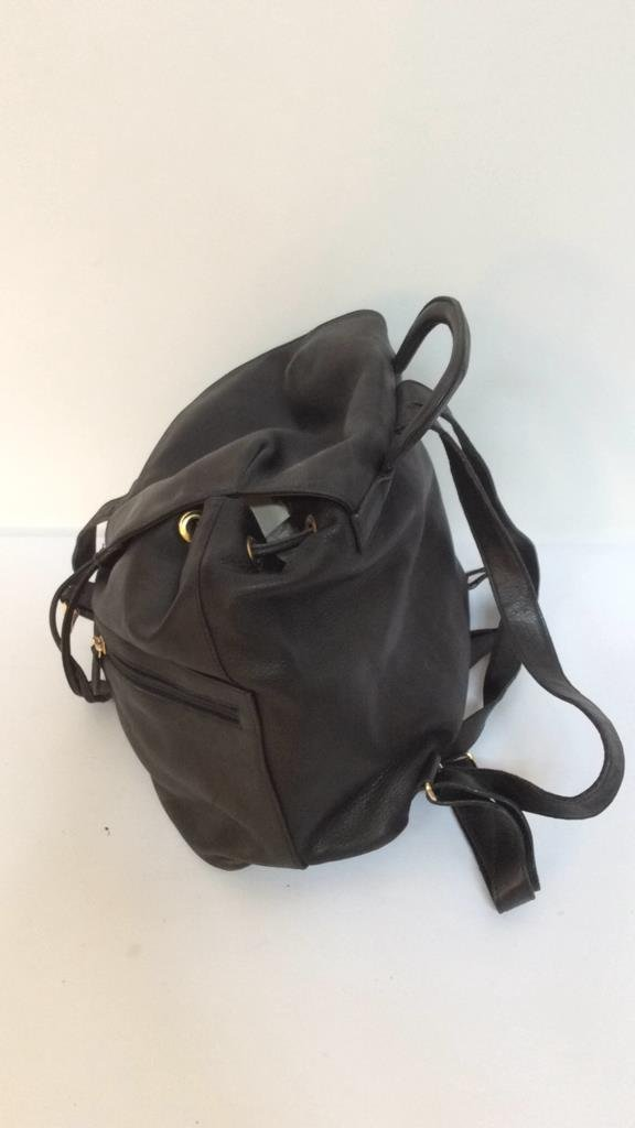 Stefano Serapian Milano Leather Backpack - 6