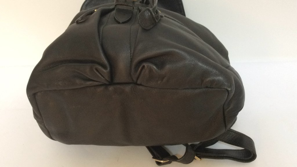 Stefano Serapian Milano Leather Backpack - 7