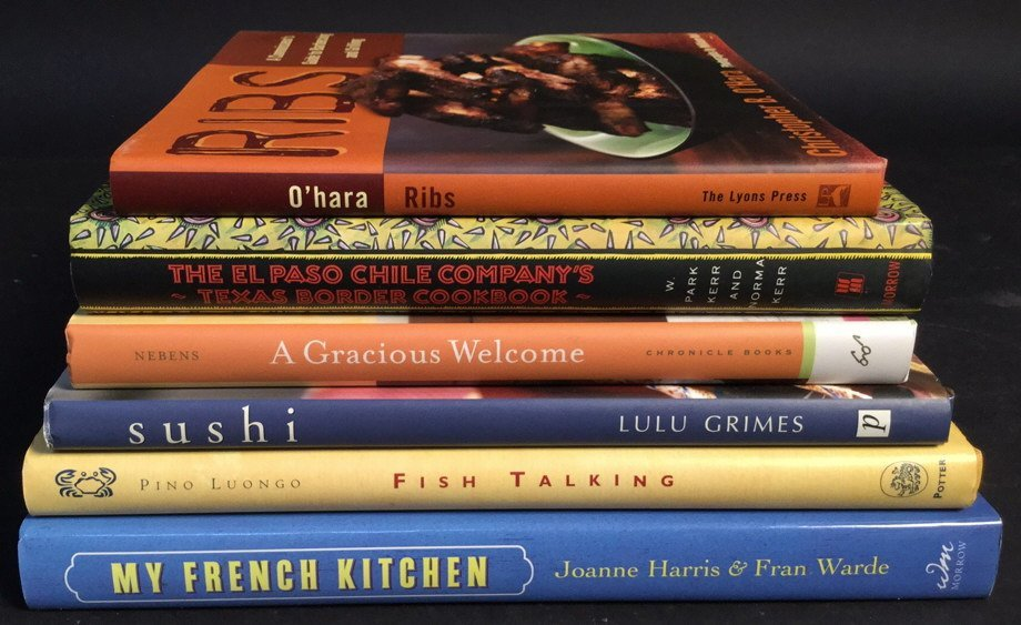 Group Lot 6 Cook Books