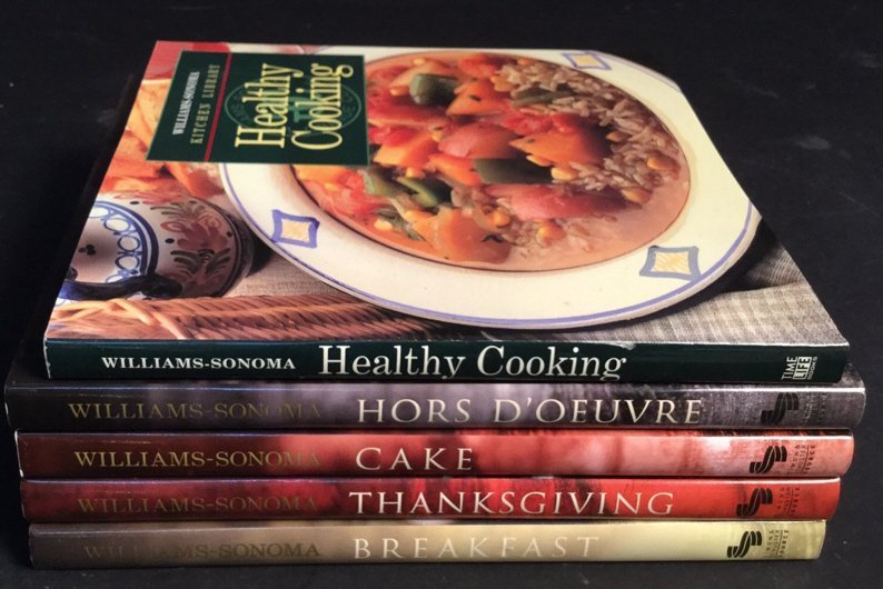 William-Sonoma 5 Cook Book Courses