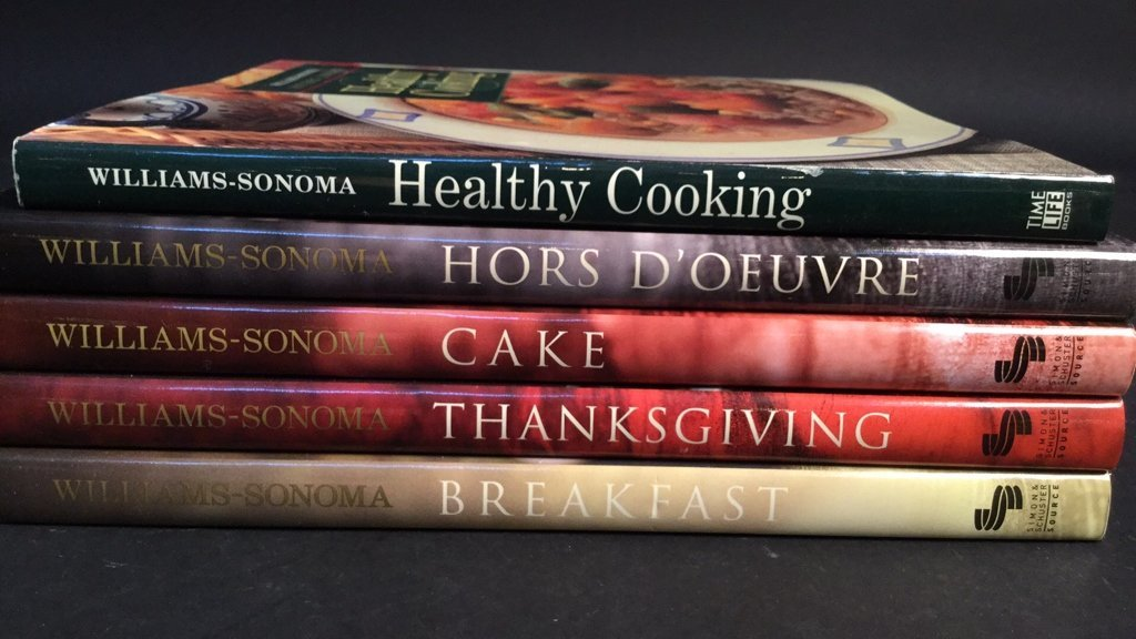 William-Sonoma 5 Cook Book Courses - 2