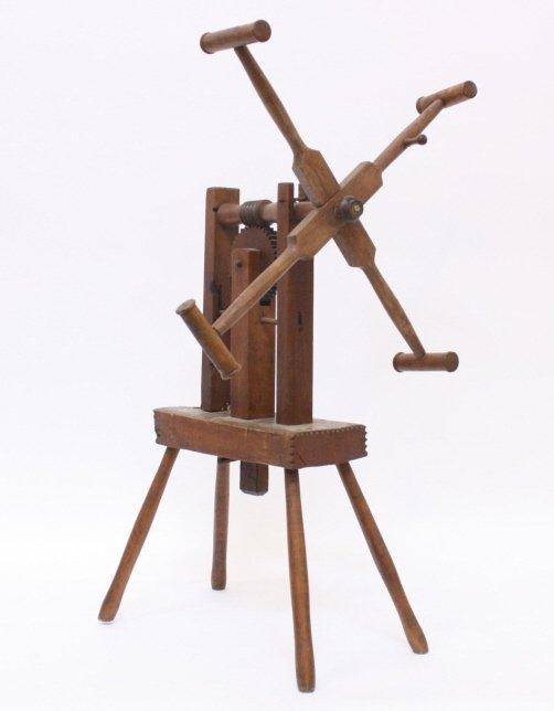 1970 Wood Yarn Winder
