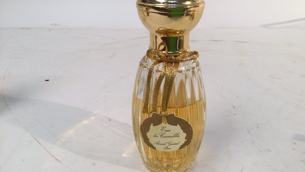 3 vintage Annick Goutal perfume bottles from paris - 3