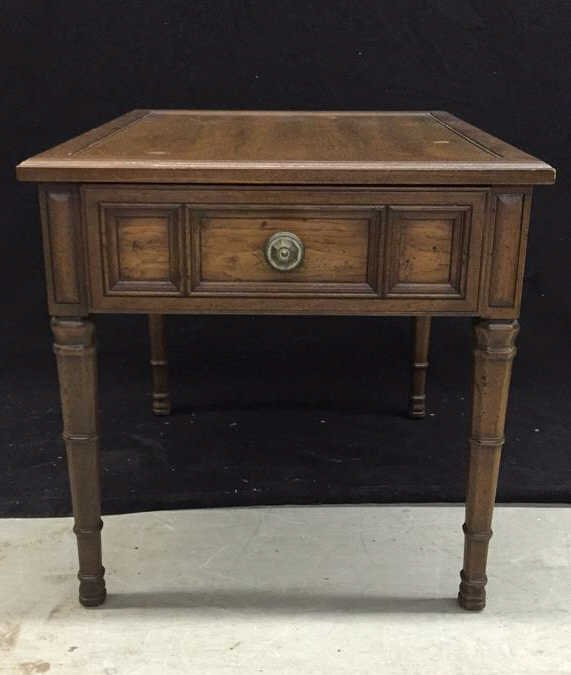HENREDON Walnut End Table