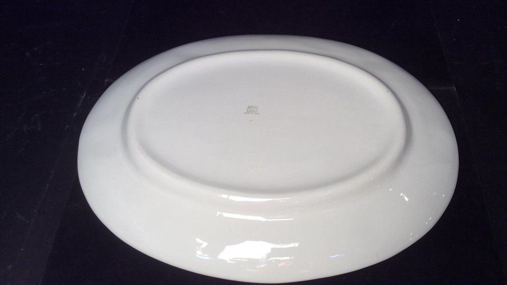 Italian White Turkey Plate - 5
