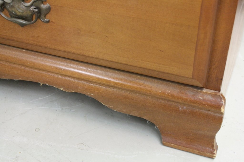 Six Drawer Classic Colonial Maple Dresser - 4