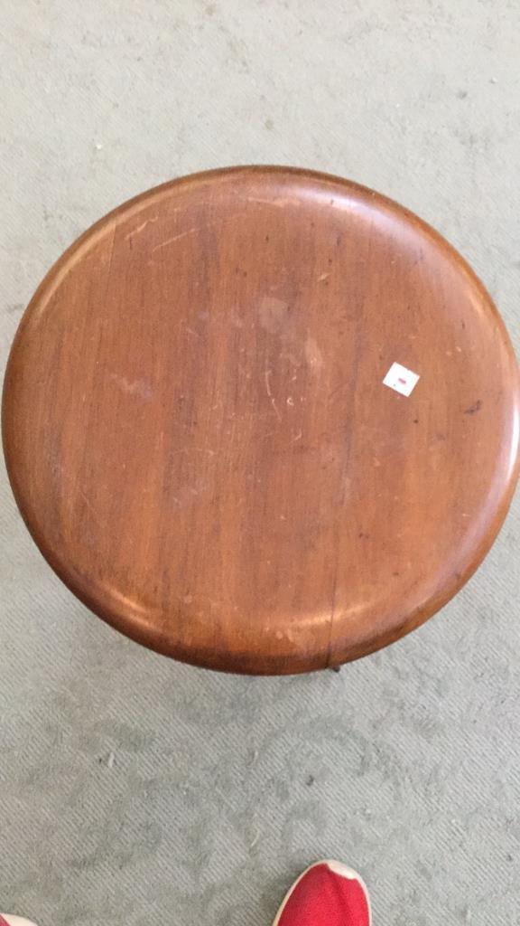 Medium Shade Wood Stool - 5