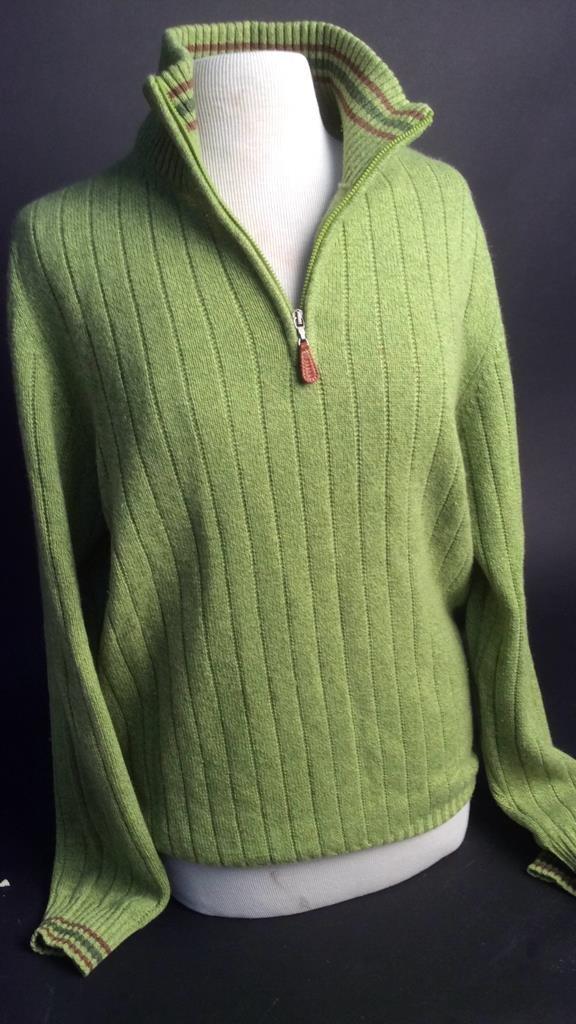 Franck Namani premium cashmere men's sweater