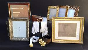 Group Lot Picture Frames  Accessories