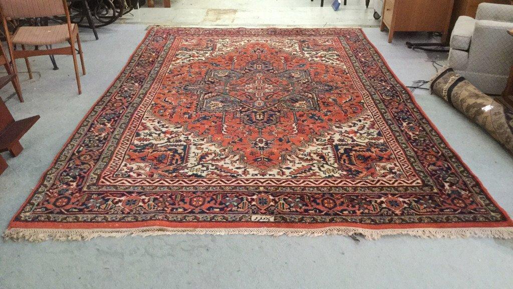 Vibrant Oriental Carpet