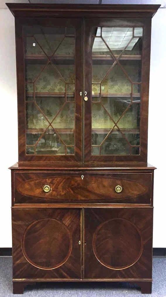 Antique SHERATON Secretary Bookcase
