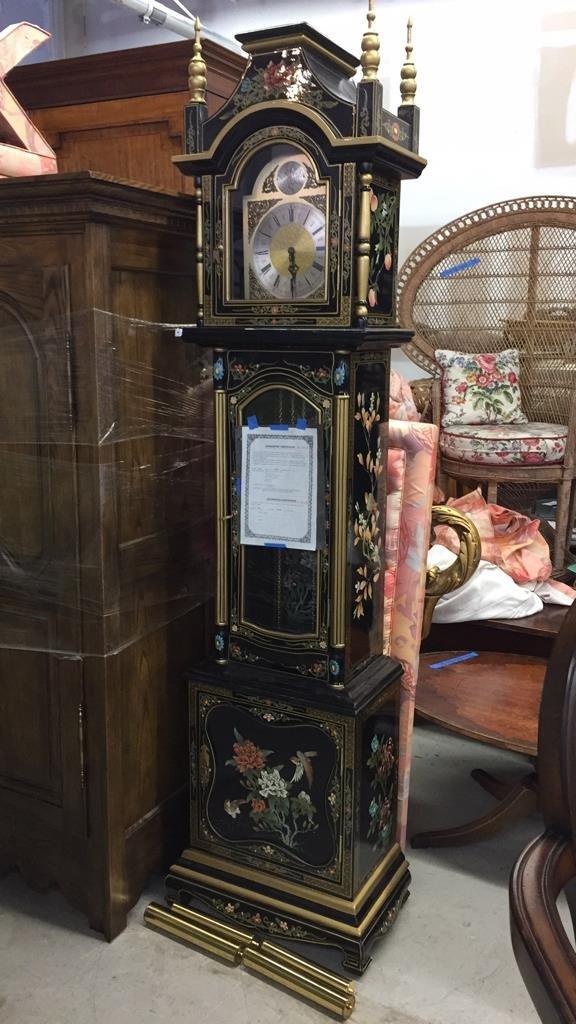 Tempus Fugit West German Grandfather Clock