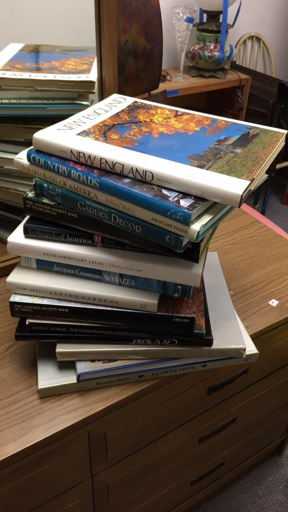 Group Lot Coffee Table Books