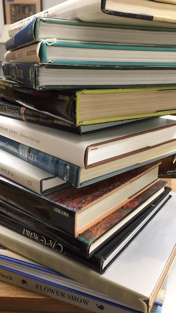 Group Lot Coffee Table Books - 3