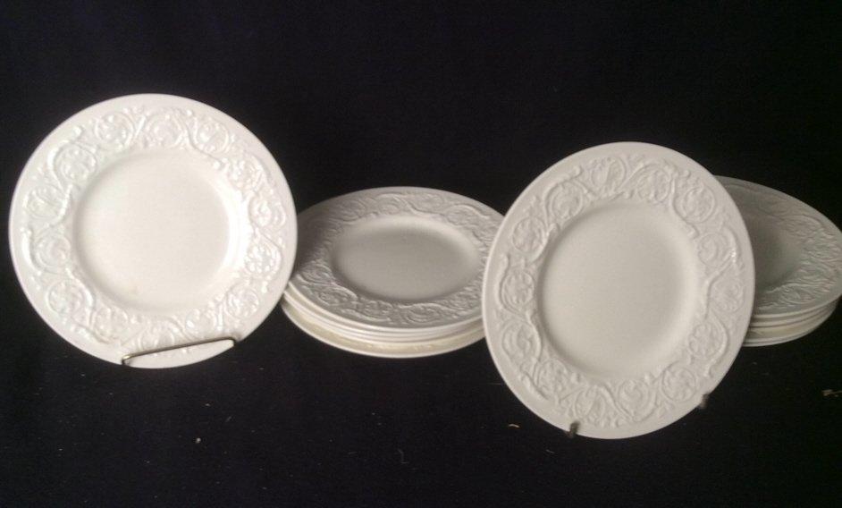 12 Wedgwood Dessert Plates