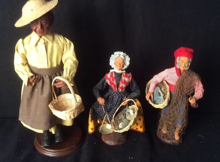 Set of 3 Villager Dolls Jac