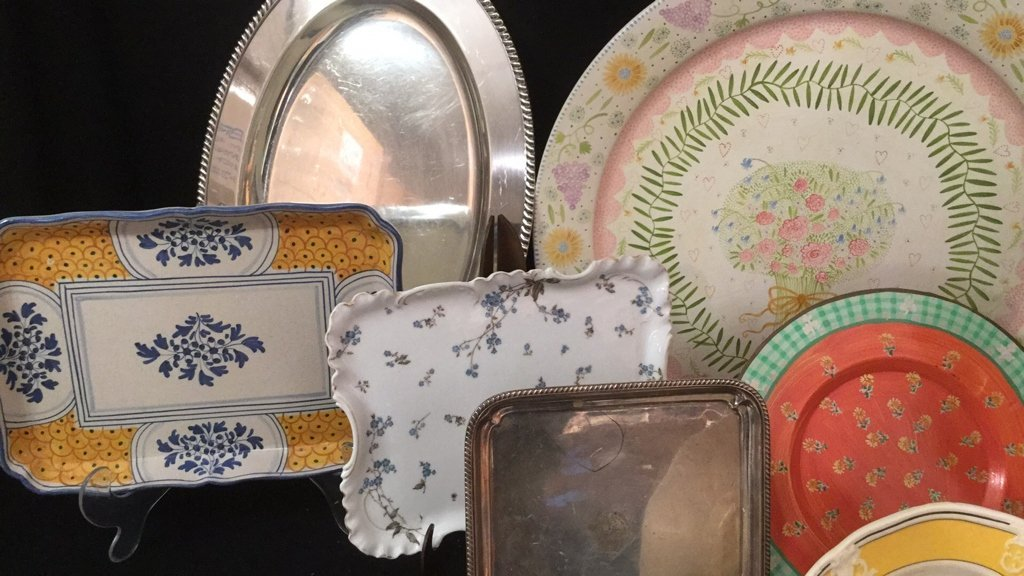 Decorative Platter Group - 4