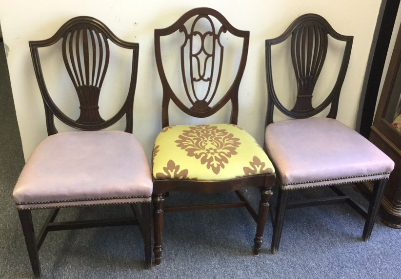 Vintage Chair Group Lot