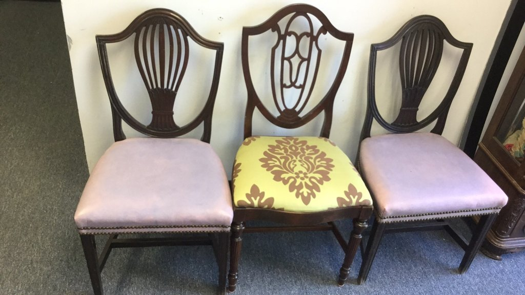 Vintage Chair Group Lot - 2
