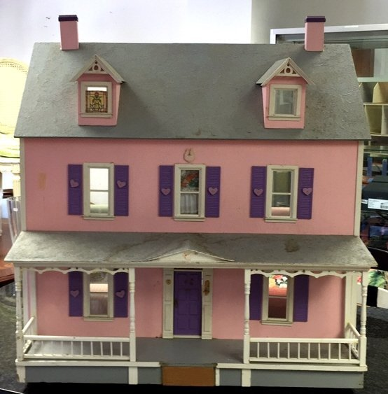 Custom Hand Painted Colonial Style Doll House