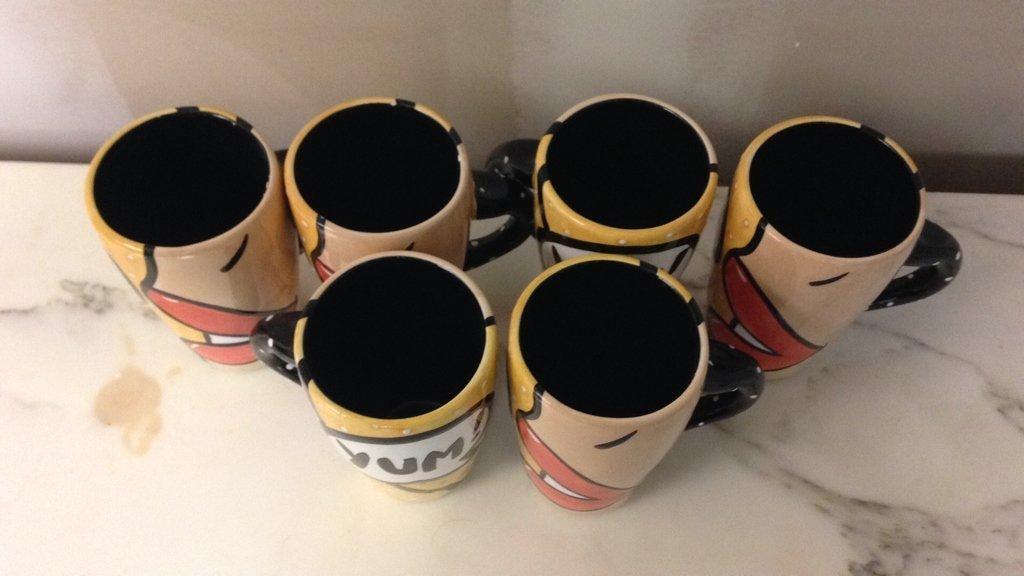 YUM Mugs Set of 6 - 4